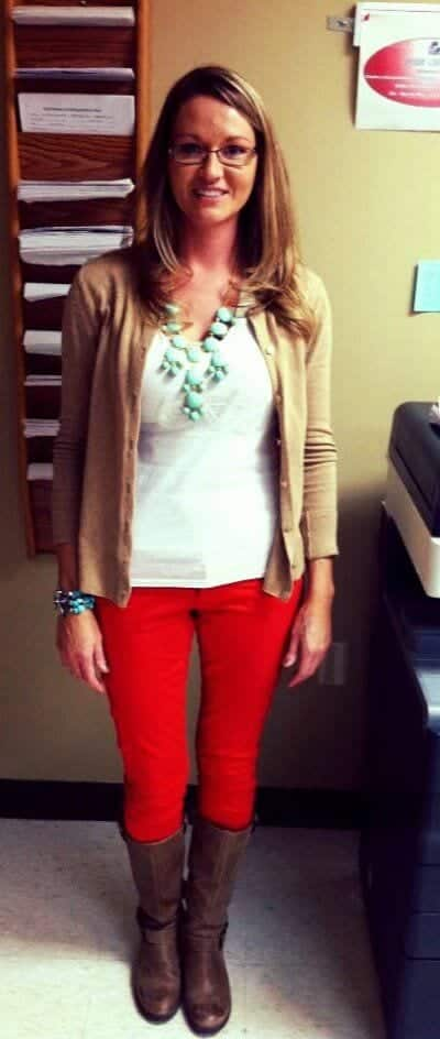 cute outfits combinations for teachers (16)