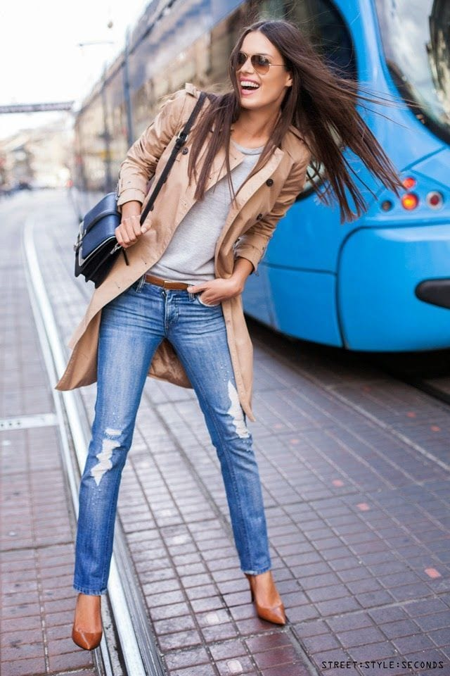 Cute-tall-Girls-Style Tall Girls Fashion -35 Cute Outfits Ideas for Tall Ladies