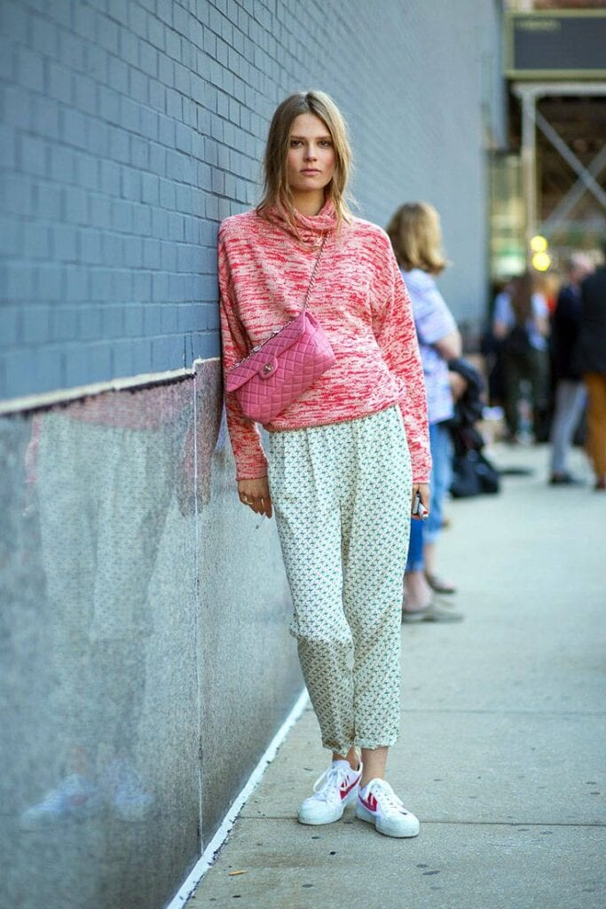 comfy-PJ-inspired-look-683x1024 30 Cute Outfits to Wear with Pajamas/PJs to Look Gorgeous