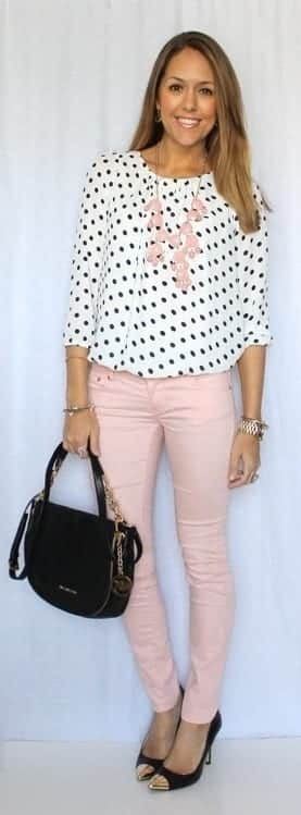 cute outfits combinations for teachers (12)