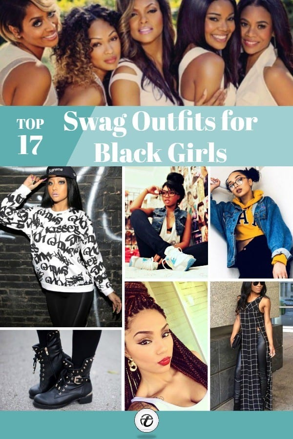 swag-outfits-for-black-girls 17 Most Swag Outfit Ideas for Black Girls - Swag Style Tips