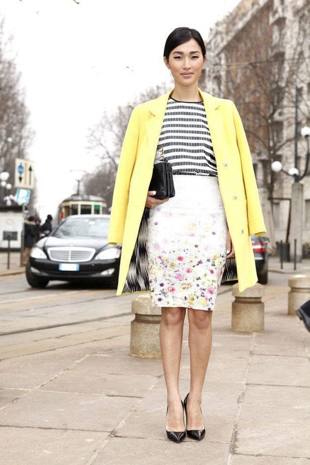 tendencias_primavera_2013_falda_lapiz_pencil_skirt_street_style_street_wear_moda_en_la_calle__983331004_800x1200-630x945 10 Matching Outfits To Wear With Pencil Skirts for Chic Look