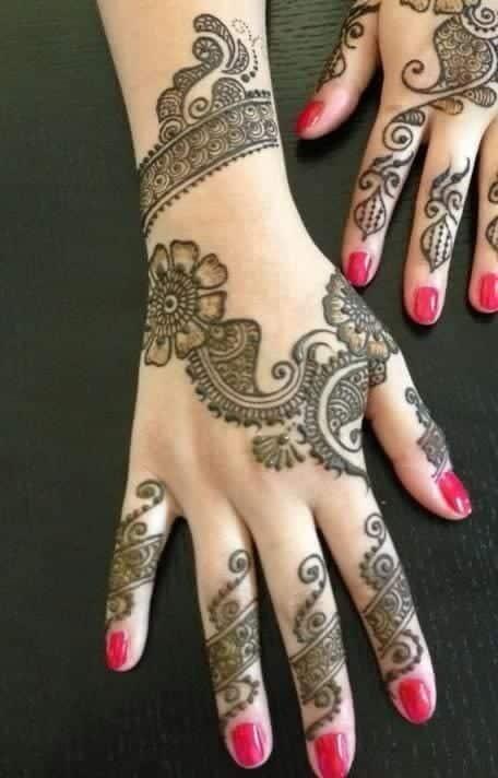 0e988d85dc9fe7b21bed39180688012c Eid Mehndi designs – 20 Cute Mehdni Designs For Hands This Year