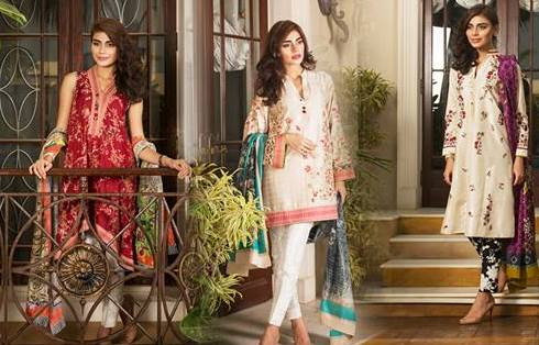 10408968_879778905403845_1598860014028779388_n1 15 Top Pakistani Designers Eid Dresses for women This Eid