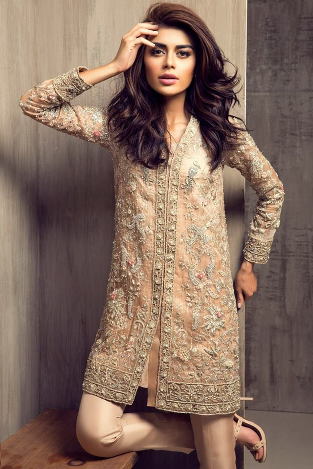 11059693_1110898348955242_2926277328657071782_n 15 Top Pakistani Designers Eid Dresses for women This Eid