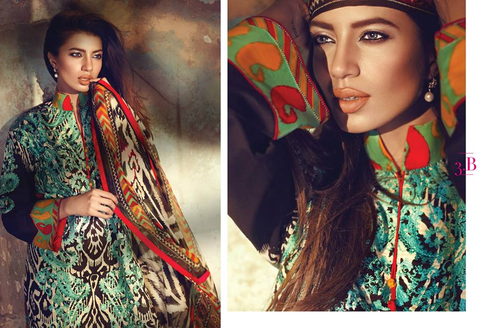 11227563_997164693649315_6374539316042633149_n 15 Top Pakistani Designers Eid Dresses for women This Eid