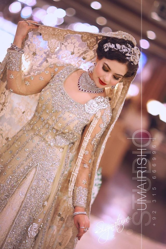 11270327_997285980284036_721095816650423193_o 15 Latest Style Walima Bridal Dresses To Look Gorgeous Bride