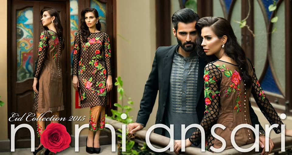 11403144_960284317324987_2548396608411332176_n 15 Top Pakistani Designers Eid Dresses for women This Eid