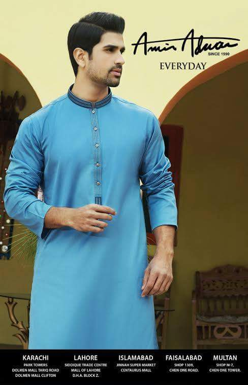 11667471_10153010058850777_8129387926728922614_n 15 Latest Men's Eid Shalwar kameez Designs for This Eid