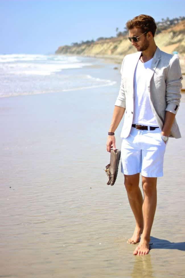 12 20 Stylish Men's Outfits Combinations with Shorts - Summer Style