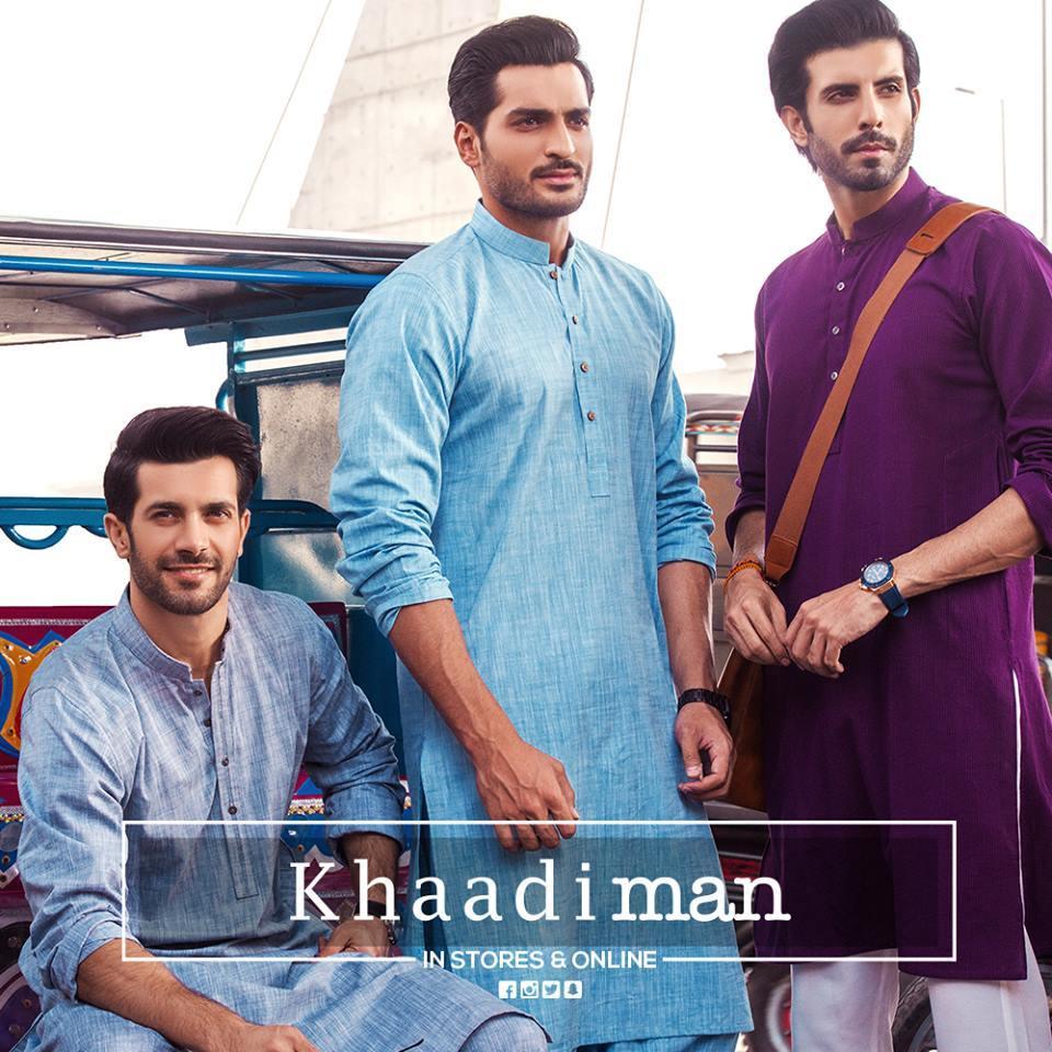 13407051_10153831729534075_7224161239315124500_n 2018 Men Eid Dresses-15 Latest Eid Kurta Shalwar Designs Men