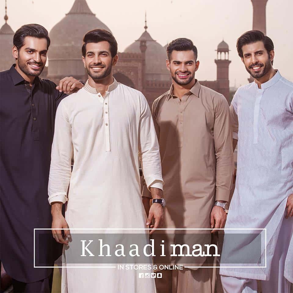13511060_10153838300159075_8573089723733515442_n 2018 Men Eid Dresses-15 Latest Eid Kurta Shalwar Designs Men