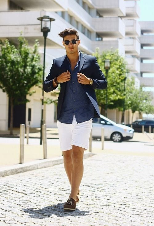 Stylish Outfits with Shorts for Men (18)