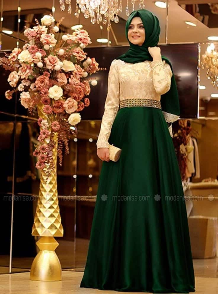37aeec6d5e6f14020cbb090cd27e53ef 15 Latest Eid Hijab Styles with Eid Dresses-2018 Eid Fashion