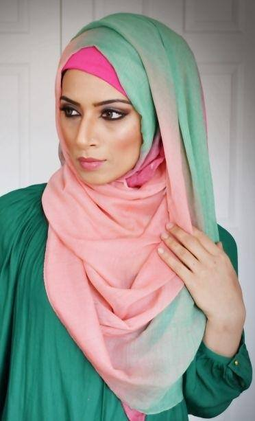 68ee3343beb0742f6aecb5a33277285d 15 Latest Eid Hijab Styles with Eid Dresses-2018 Eid Fashion
