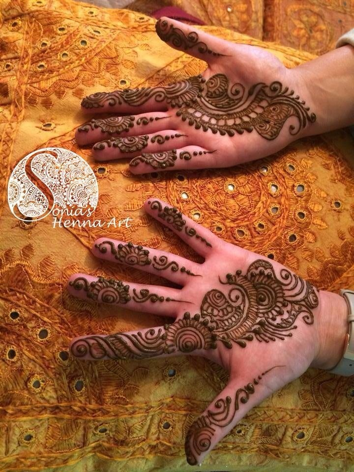 Mehndi Crescent Moon : Eid mehndi designs cute mehdni for hands