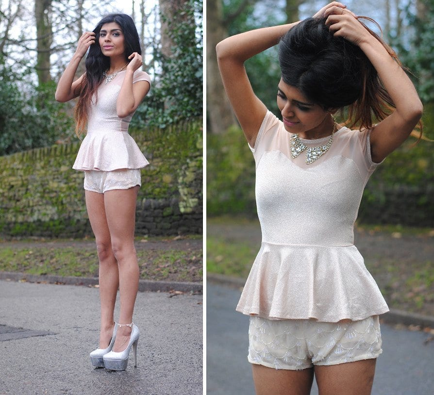 Bohemian-style-peplum-top Summer Peplum Outfits-17 ways to Wear Peplum Tops in Summers