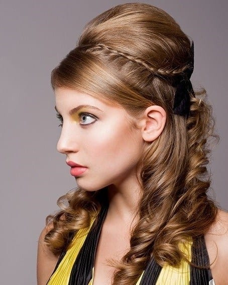 Eid Hairstyles U2013 Best Hairstyles For Girls 0014