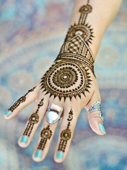 b9609a035917ca423408e4c7601e56d5 Eid Mehndi designs – 20 Cute Mehdni Designs For Hands This Year