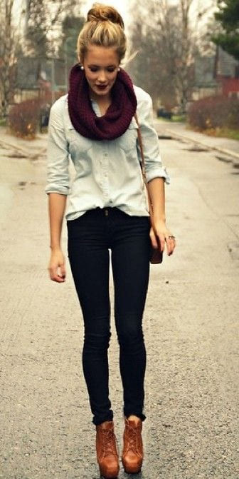 cute-outfit-2 17 Ideal Outfits that Go with Long Hairs - Dressing Tips