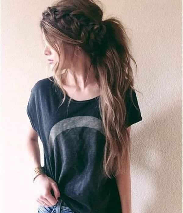 cute-outfit-4 17 Ideal Outfits that Go with Long Hairs - Dressing Tips