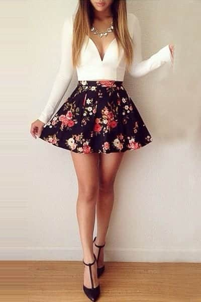 cute5 17 Ideal Outfits that Go with Long Hairs - Dressing Tips