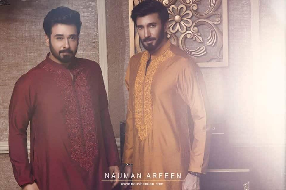 designer-eid-shalwar-kamees-for-men 15 Latest Men's Eid Shalwar kameez Designs for This Eid