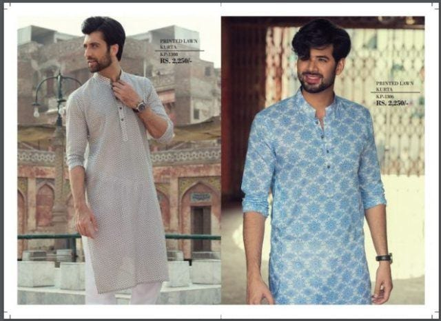 2018 Men Eid Dresses 15 Latest Eid Kurta Shalwar Designs Men