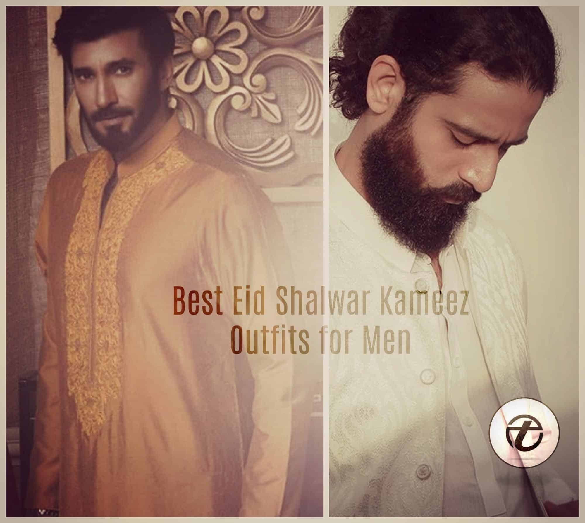 eid-shalwar-kameez-outfits-for-men 15 Latest Men's Eid Shalwar kameez Designs for This Eid