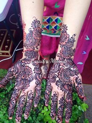 g-3 Eid Mehndi designs – 20 Cute Mehdni Designs For Hands This Year