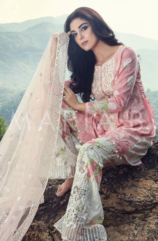 2018 Latest Style Eid Dresses Designs for Girls Eid Collection