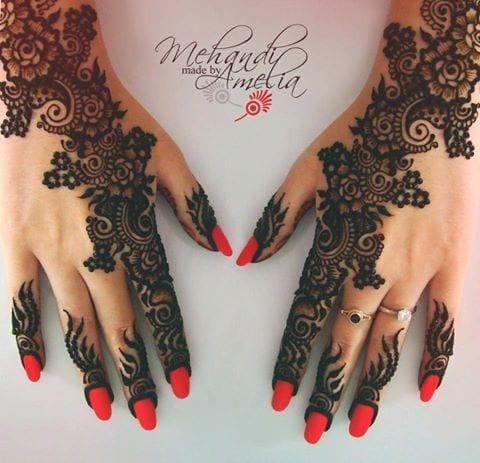 ggg-3 Eid Mehndi designs – 20 Cute Mehdni Designs For Hands This Year