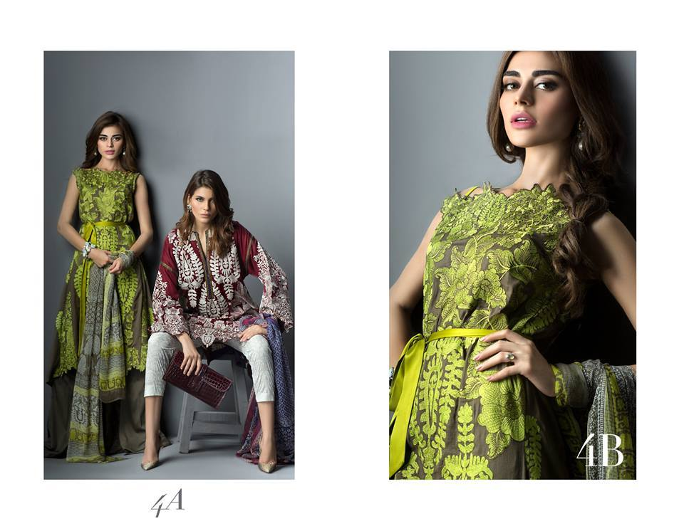gggg 2018 Latest Style Eid Dresses Designs for Girls - Eid Collection