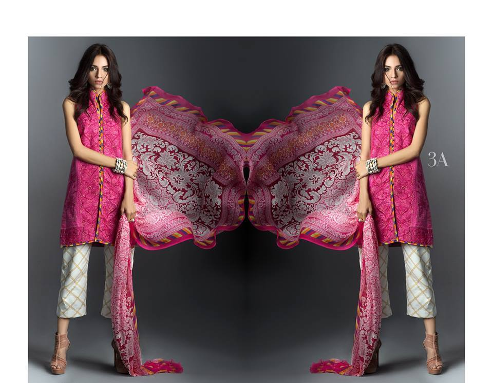 ggggg 15 Top Pakistani Designers Eid Dresses for women This Eid