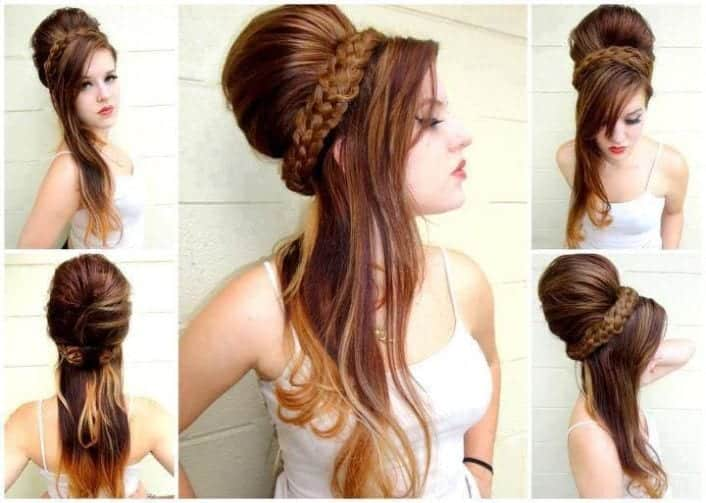 Beautiful Mehndi Hairstyles : Eid hairstyles latest girls for