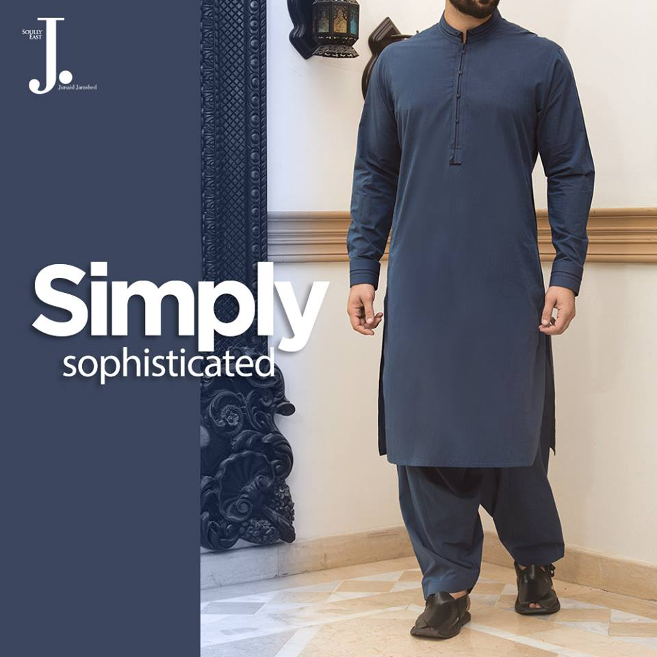junaid-jamshed-eid-collection-2017 15 Latest Men's Eid Shalwar kameez Designs for This Eid