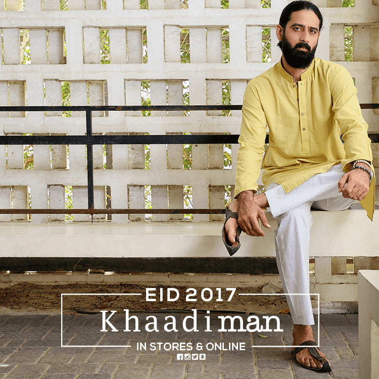 khaadi-man-eid-outfit 15 Latest Men's Eid Shalwar kameez Designs for This Eid