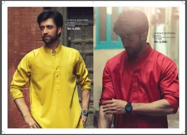 latest-eid-kurtas-for-men 2018 Men Eid Dresses-15 Latest Eid Kurta Shalwar Designs Men