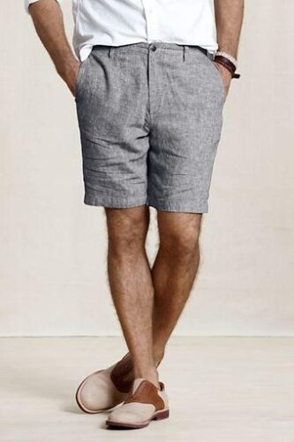 Mens Denim Jean Shorts