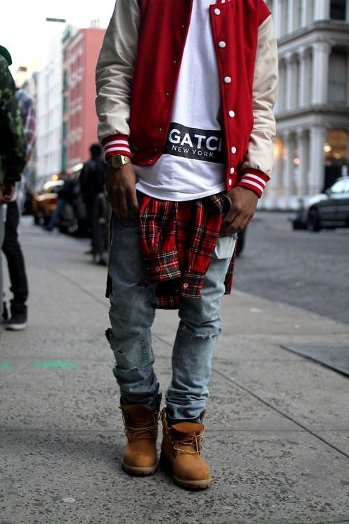 male outfits with timberland shoes3