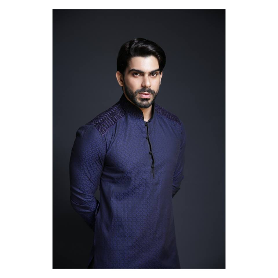 men-eid-kurtas-by-HSY 2018 Men Eid Dresses-15 Latest Eid Kurta Shalwar Designs Men