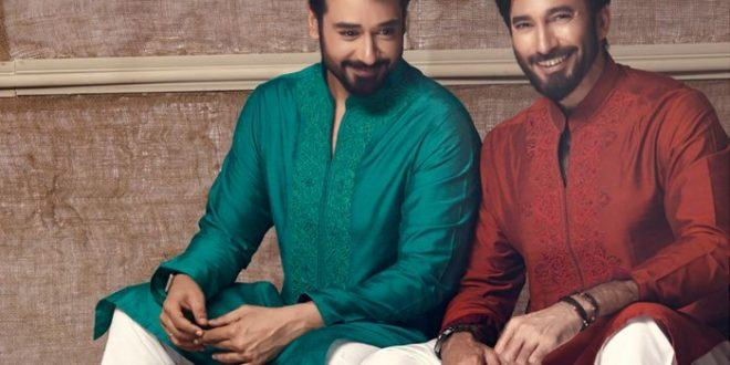 nauman-arfeen-men-eid-collection 15 Latest Men's Eid Shalwar kameez Designs for This Eid
