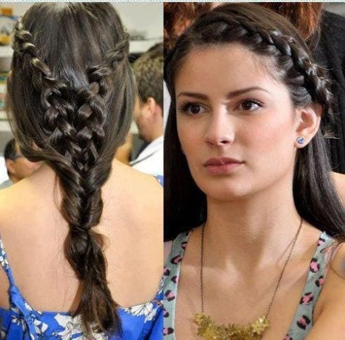 Incredible 2016 Eid Hairstyles 20 Latest Girls Hairstyles For Eid Hairstyle Inspiration Daily Dogsangcom