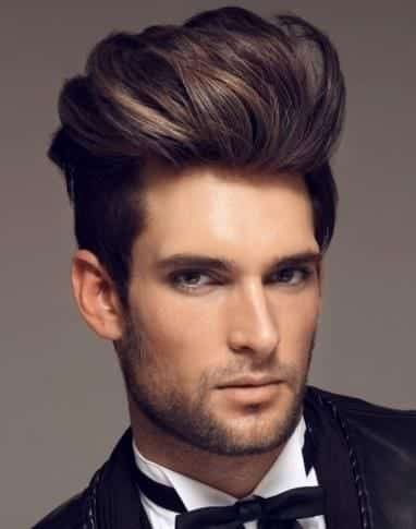 swag-11-pompadour 21 Most Popular Swag Hairstyles for Men to Try this Season