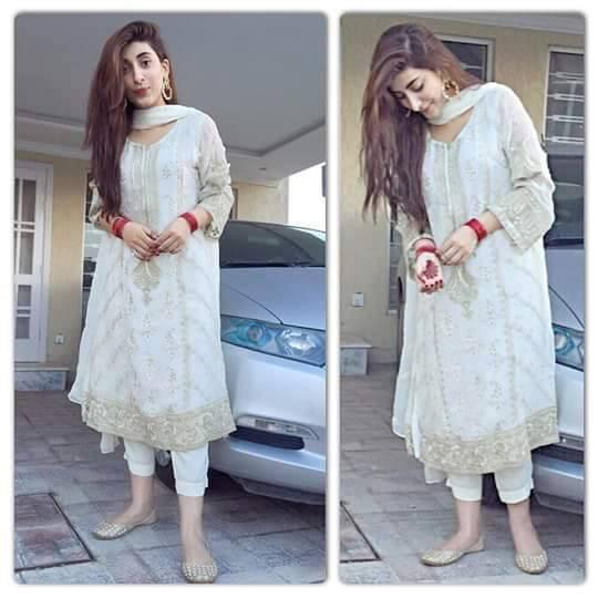 urwa-hocane-eid-outfit 2018 Eid Hairstyles - 20 Latest Girls Hairstyles For Eid