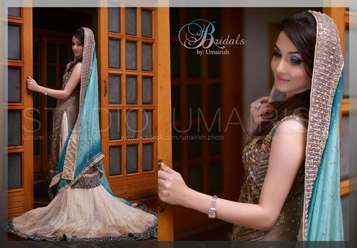 w 15 Latest Style Walima Bridal Dresses To Look Gorgeous Bride