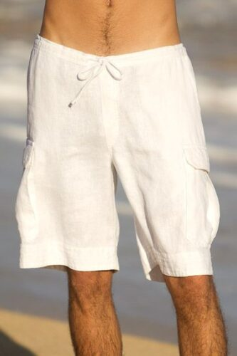 white-333x500 20 Stylish Men's Outfits Combinations with Shorts - Summer Style