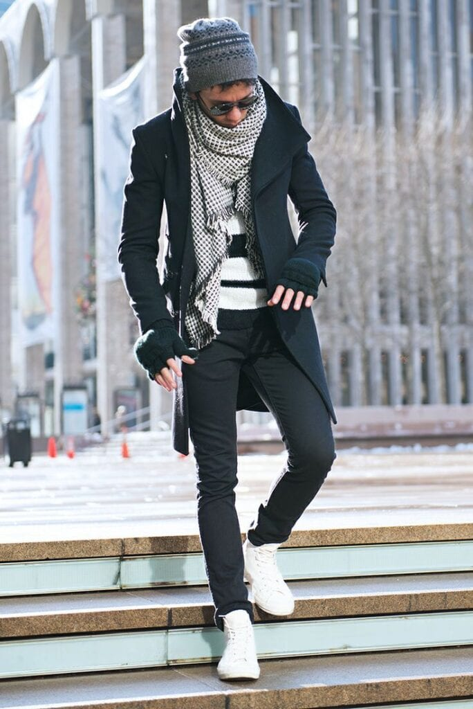 0c9672b7d3f5ee3b6617a2b591e80bcb-684x1024 Men Sneakers Outfits - 18 Ways to Wear Sneakers Fashionably