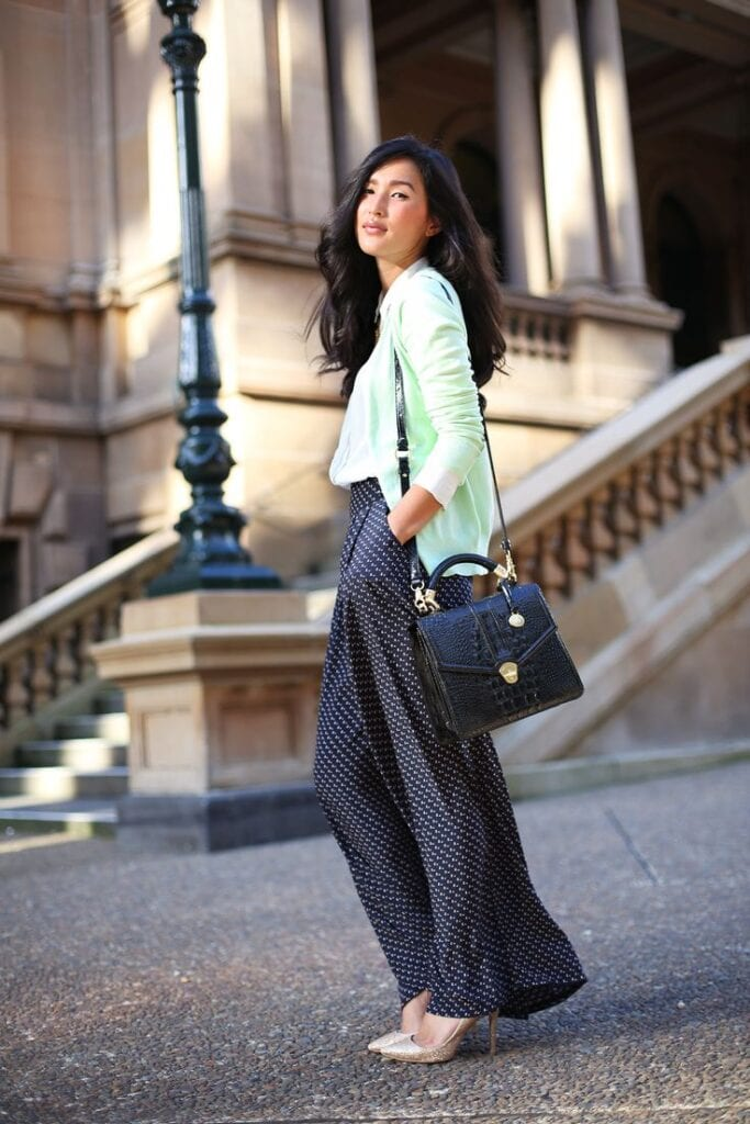 Stylish Shoes with Palazzo Pants (8)