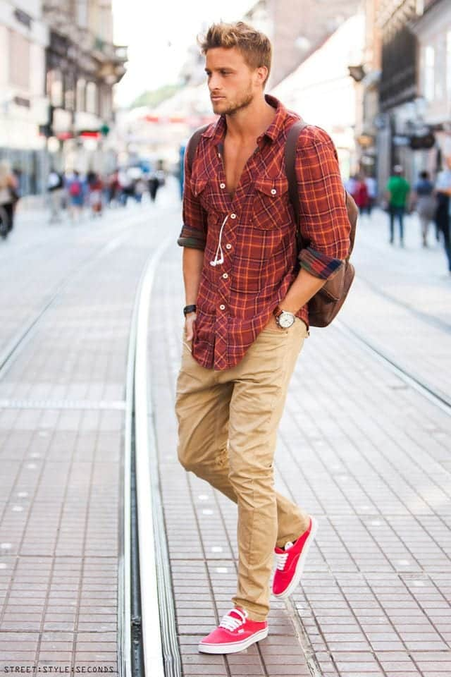Men Sneakers Outfits 18 Ways To Wear Fashionably